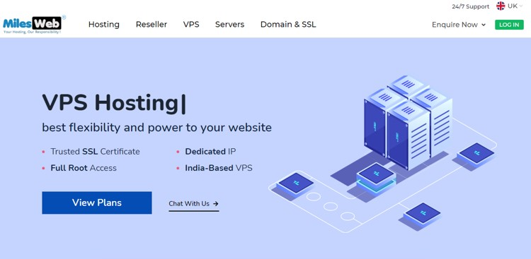 MilesWeb Review: High-Speed & Reliable VPS Hosting Provider in the UK